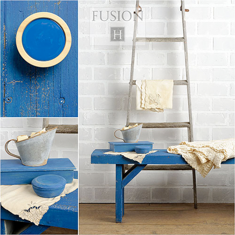 LIBERTY BLUE Fusion™ Mineral Paint - Rustic Farmhouse Charm