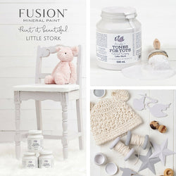 LITTLE STORK Fusion™ Mineral Paint - Rustic Farmhouse Charm