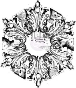 IOD Décor Transfer: Medallion 40.64cm x 40.64cm
