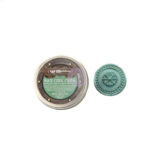 MINT SPARKLE Finnabair Metallique Wax (Art Alchemy)