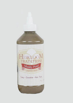 MUDDY POND Liquid Wax 8oz (226g) by Heirloom Traditions Paint