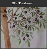 Olive Tree Painting Stencil by Victoria Larsen