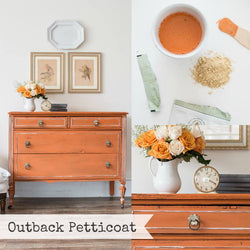 OUTBACK PETTICOAT Miss Mustard Seed's Milk Paint - Rustic Farmhouse Charm