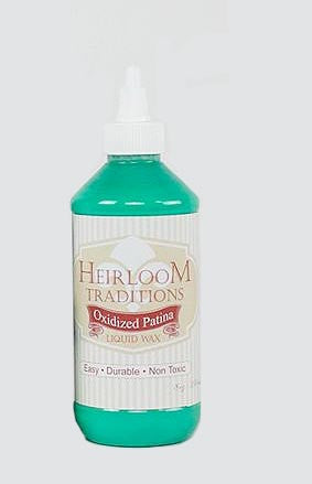 OXIDISED PATINA Liquid Wax 8oz (226g) by Heirloom Traditions Paint