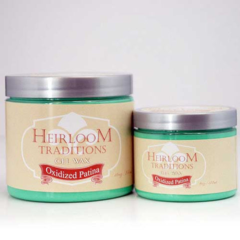 OXIDISED PATINA Gel Wax by Heirloom Traditions Paint - Rustic Farmhouse Charm