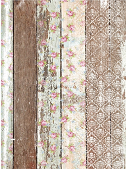 Dixie Belle Decoupage Rice Paper - PALLET WOOD PATTERN (PRE-ORDER) - Rustic Farmhouse Charm