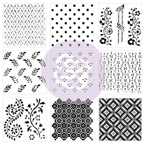 IOD Décor Stamp: Pattern Play
