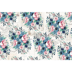 PRE-ORDER by 21 September 7pm WST Redesign Decoupage Paper - PAULETTE (76.2cm x 48.26cm)