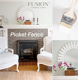 PICKET FENCE Fusion™ Mineral Paint - Rustic Farmhouse Charm