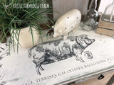 "Rustic ""Gloucestershire Bacon"" Hall Table"