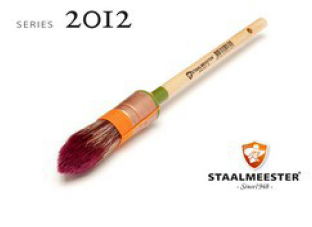 Staalmeester® Pointed Paintbrush Series 2012 #10 (20mm)