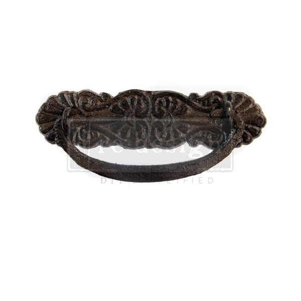 Redesign Cast Iron Pull -RHEA 10.8cm x 4.9cm - Rustic Farmhouse Charm