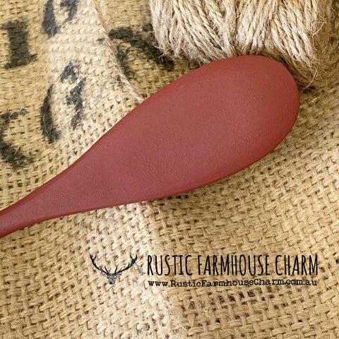 Dixie Belle Chalk Mineral Paint - RUSTIC RED - Rustic Farmhouse Charm