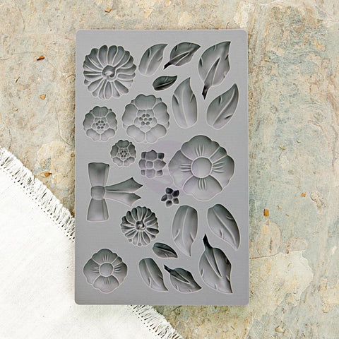 IOD Decor Mould: Rustic Fleur
