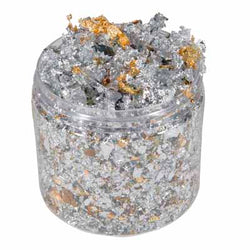 SILVER DREAM Cosmic Shimmer Gilding Flakes 200ml