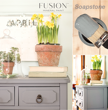 SOAPSTONE Fusion™ Mineral Paint - Rustic Farmhouse Charm