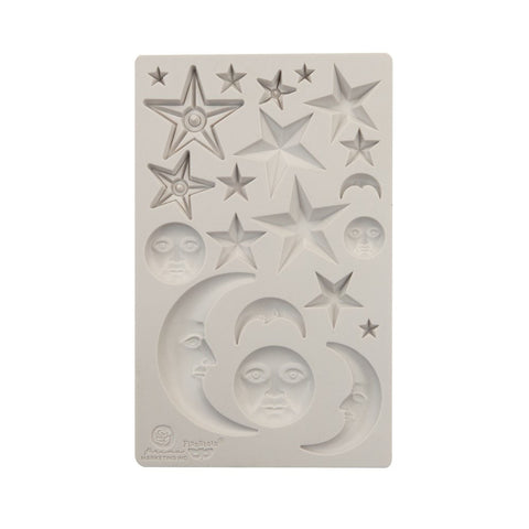 STARS & MOONS Mould by Finnabair