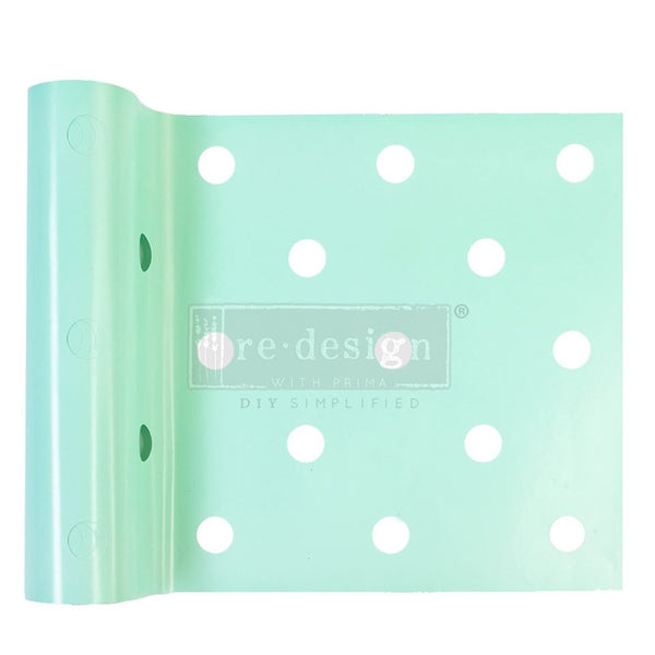 MINI DOT Stick & Style Stencil Roll (Design size 15.24cm x 274cm)