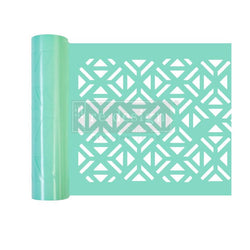 IRREGULAR TRIANGLES Stick & Style Stencil Roll (Design size 15.24cm x 274cm)