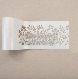 "Redesign Stick & Style Stencil Roll - Royal Ann Garden 4"" x 15 yds (13.716m)"