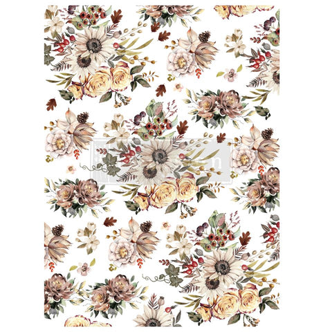 SUNFLOWER FARMS Redesign Transfer 76.2cm x 58.42cm - Rustic Farmhouse Charm