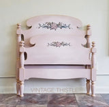 Dixie Belle Chalk Mineral Paint - TEA ROSE - Rustic Farmhouse Charm