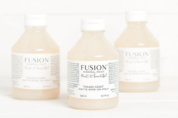 Fusion™ CLEAR TOUGH COAT Matte Wipe-on Poly (500ml) - Rustic Farmhouse Charm