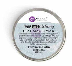 TURQUOISE SATIN Opal Magic Wax by Finnabair (Art Alchemy)