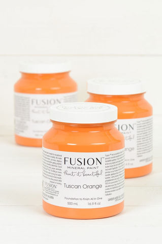 TUSCAN ORANGE Fusion™ Mineral Paint