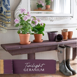 TWILIGHT GERANIUM Fusion™ Mineral Paint - Rustic Farmhouse Charm