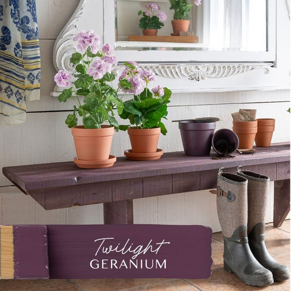 New! TWILIGHT GERANIUM Fusion™ Mineral Paint