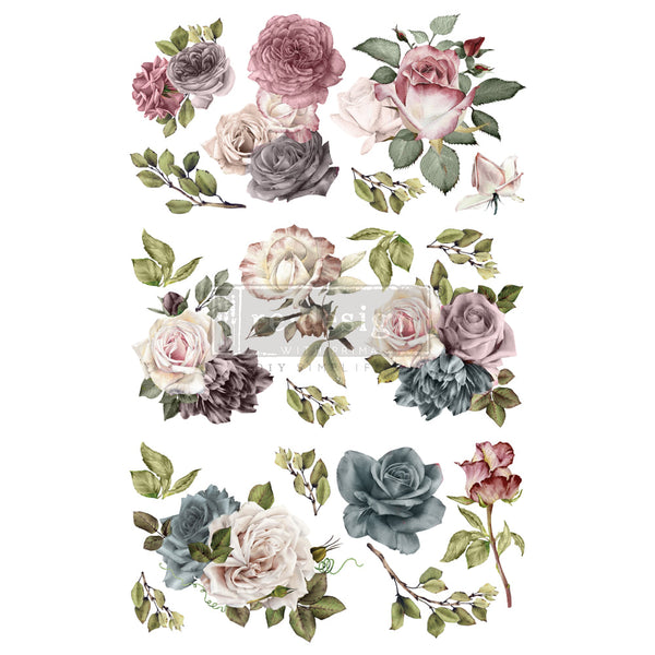 VINTAGE DREAM Redesign Transfer (88.9cm x 60.96cm) - Rustic Farmhouse Charm