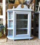 Small Wall Cabinet - Rustic Farmhouse Charm