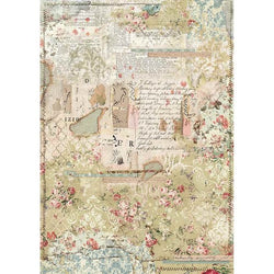 WALLPAPER LAYERS Rice Paper by Stamperia (A3) - Rustic Farmhouse Charm