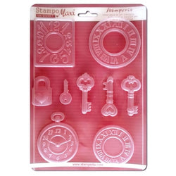 WATCHES Soft Maxi Mould by Stamperia (A4)