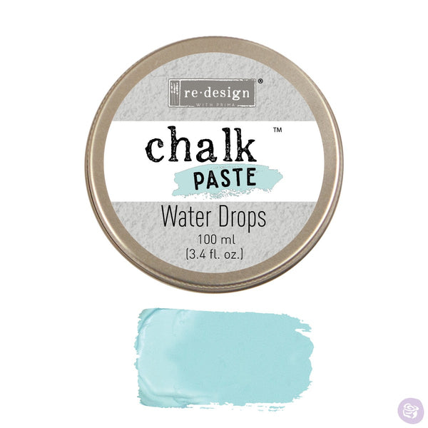 WATER DROPS Redesign Chalk Paste 100ml - Rustic Farmhouse Charm