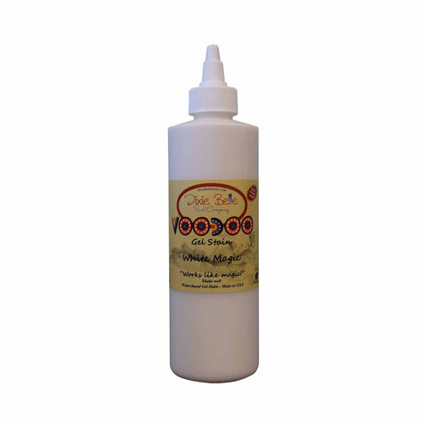 Dixie Belle VooDoo Gel Stain - WHITE MAGIC 8oz (236ml) - Rustic Farmhouse Charm