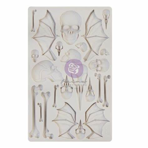 WINGS & BONES Mould by Finnabair - Rustic Farmhouse Charm