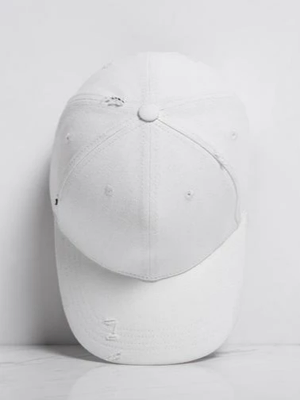 White Baseball Cap - This Is For Him