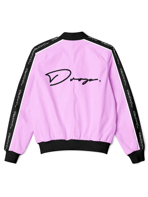 Fifty Foot Drop The Drop Pink Tracksuit Jacket