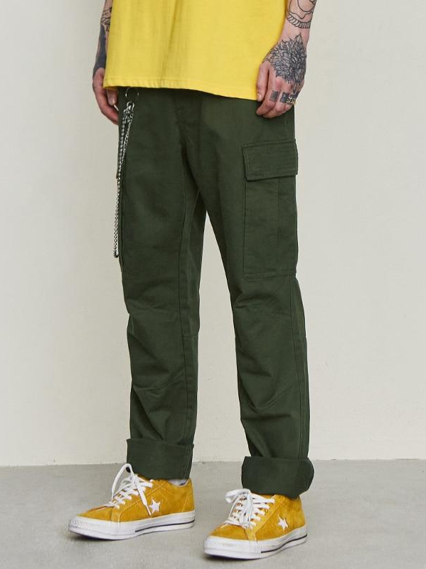 Drawstring Cargo Pants - This Is For Him