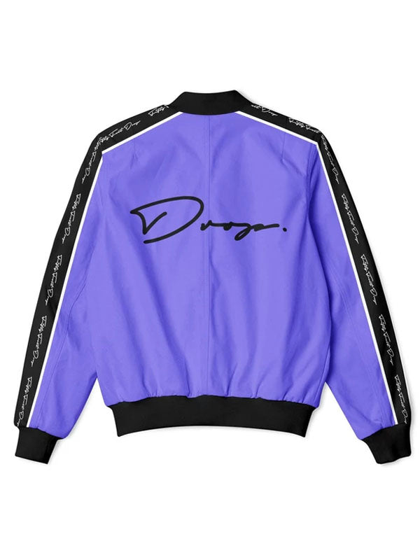 Fifty Foot Drop The Drop Purple Tracksuit Jacket