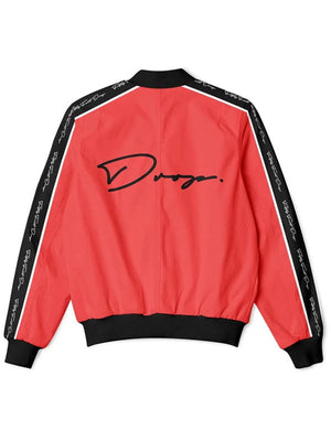 Fifty Foot Drop The Drop Red Tracksuit Jacket
