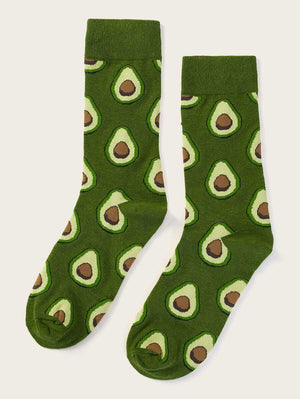 Avocado Design Socks
