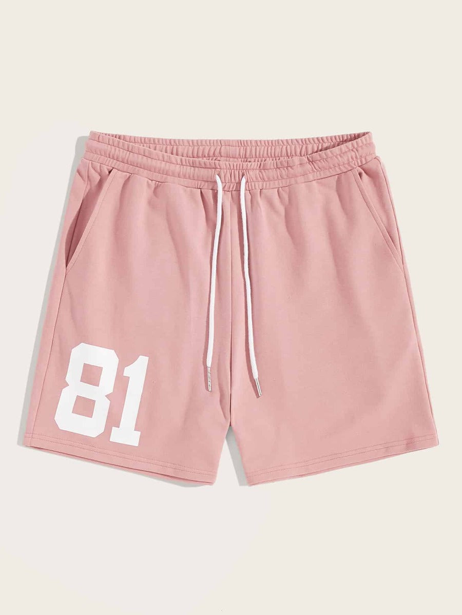 Number 81 Pink Shorts