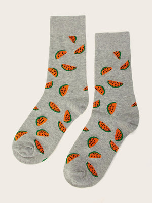 Watermelon Design Socks