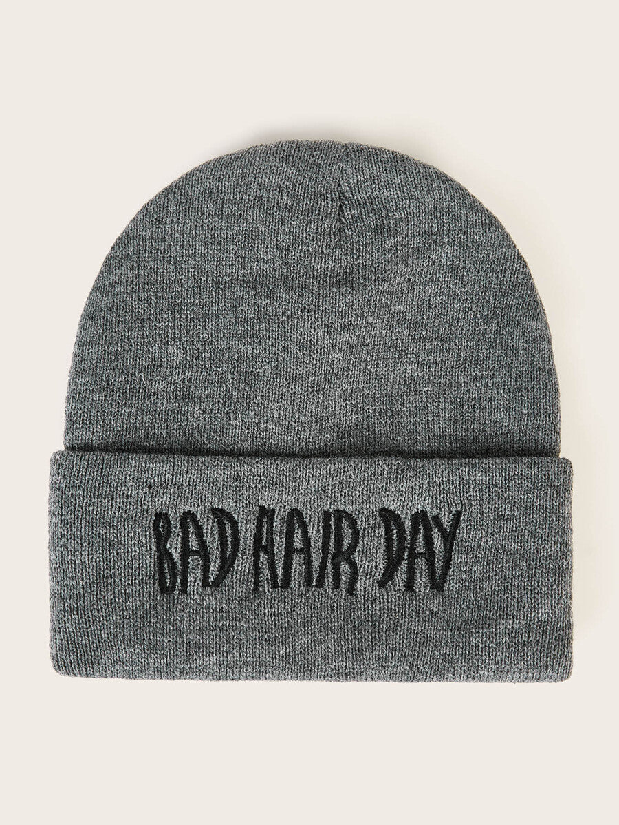 Bad Hair Day Cuff Beanie Hat