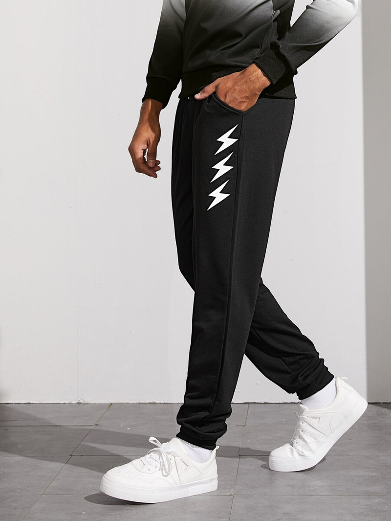 Reflective Lightning Sweatpants