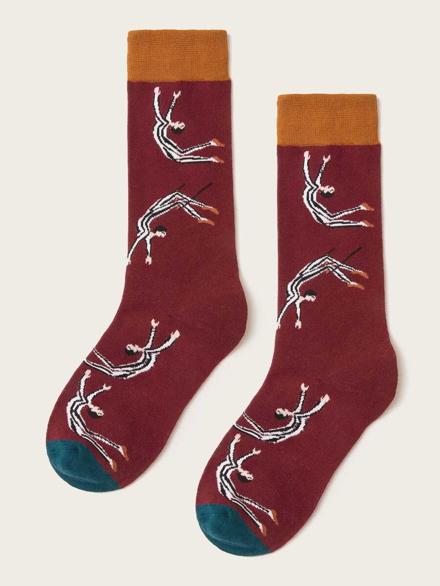 Figure Men Design Socks
