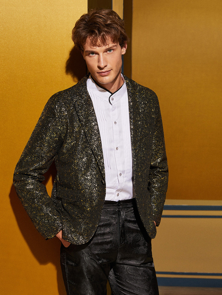 Sequin Tailored Blazer
